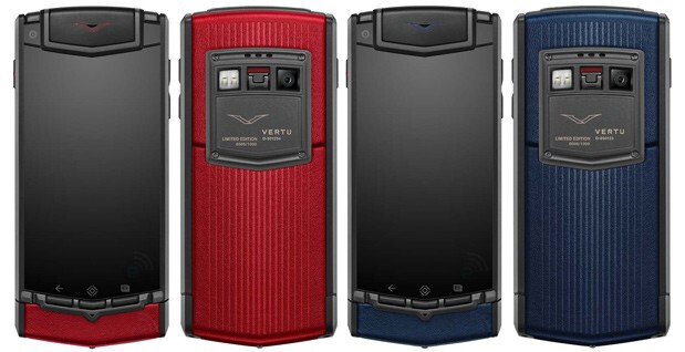 Vertu announces limited edition TI devices, only 1,000 of each will be made