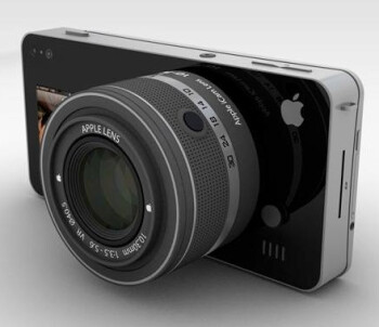 Here is one person's imagination of an iOS powered camera. Would you be inspired to buy one?