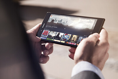 """6.4"""" Sony Xperia Z Ultra unveiled - thinnest, fastest waterproof phablet allows pencil input"""