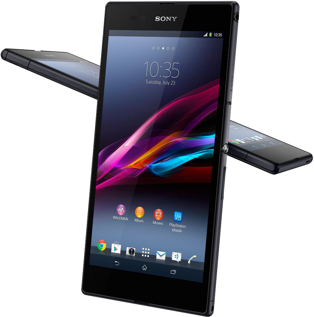 "6.4"" Sony Xperia Z Ultra unveiled"
