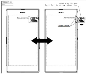 The 6.44 inch Sony Xperia Z Ultra visits the FCC