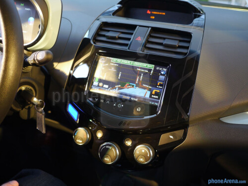 Chevy MyLink smartphone-based infotainment system hands-on
