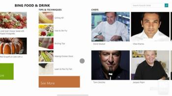 Bing Food & Drink on Windows 8.1