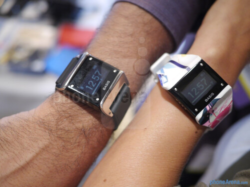 Basis wrist-based health tracker hands-on