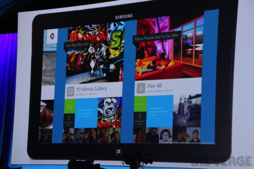 Foursquare's Windows 8/RT app