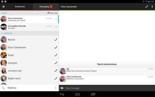Imo Messenger Mobile App