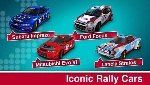 Iconic Rally Cars
