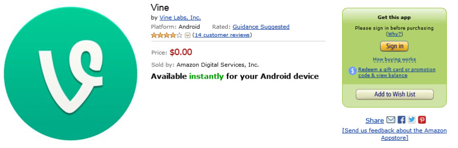 Vine is now available for the Amazon Kindle Fire - Vine comes to the Amazon Kindle Fire
