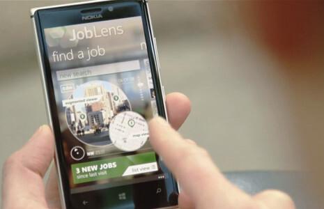 JobLens Interface
