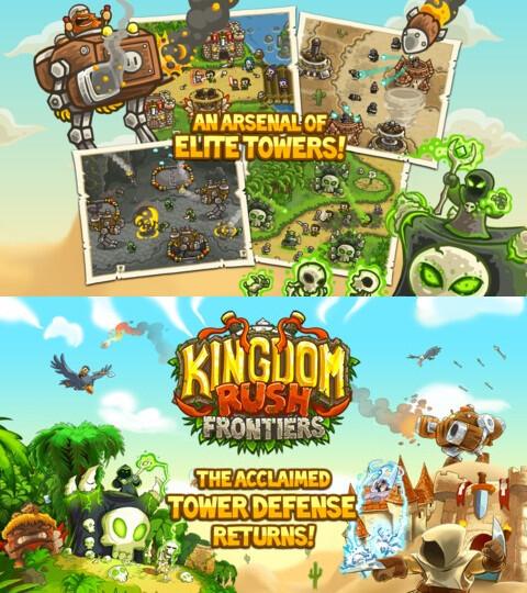 Kingdom Rush Frontiers - iOS - $2.99