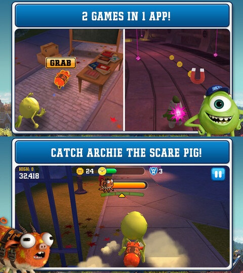 Monsters University - Android, iOS - $0.99