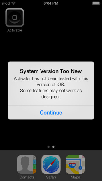 iOS 7 jailbroken well before it's necessary