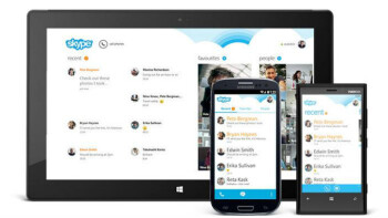 Skype for Android celebrates 100M installs with updated Windows 8-like interface
