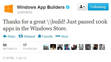 Up, up and away, Windows Store passes 100,000 apps