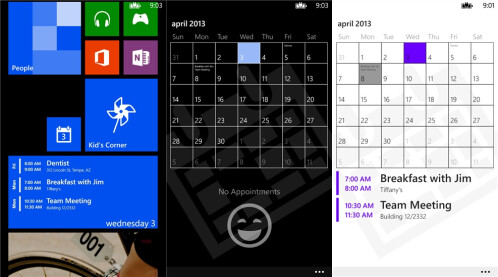 Simple Calendar - Windows Phone - Free