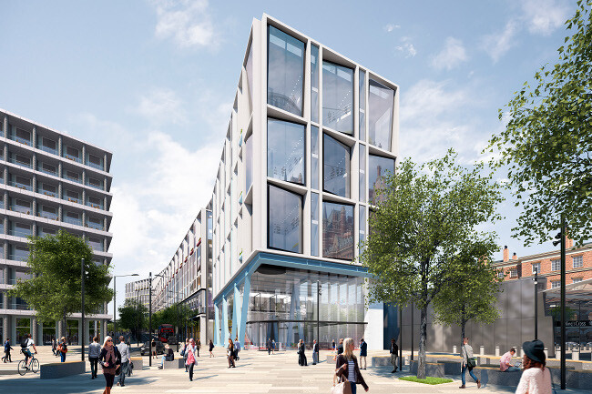Google's billion dollar HQ in London to be made of steel and timber