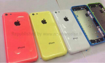 Entry level iPhone to come in blue as well, new photo depicts all colors