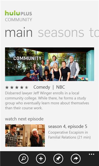 Hulu Plus app for Windows Phone brings support for Kids Corner