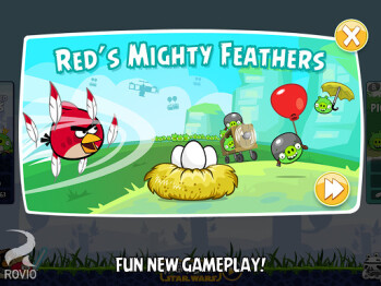 Angry Birds classic game updated with 15 new levels