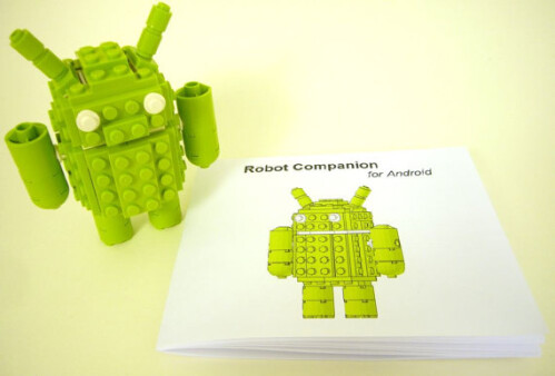 Android Brick Robot Companion - $30.00