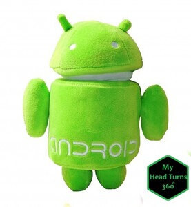 Official Android Mascot Plush Toy - $7.78