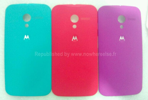 First pics of the Moto X backplates leak