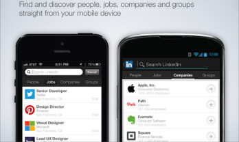 LinkedIn update for Android and iOS allows for searching jobs and more