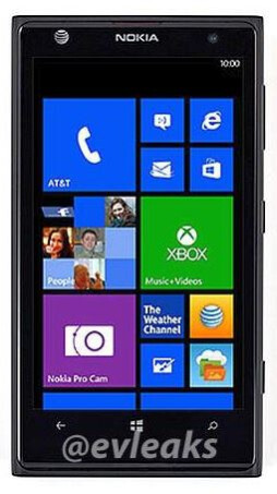 Leaked render of the Nokia EOS/Lumia 1020