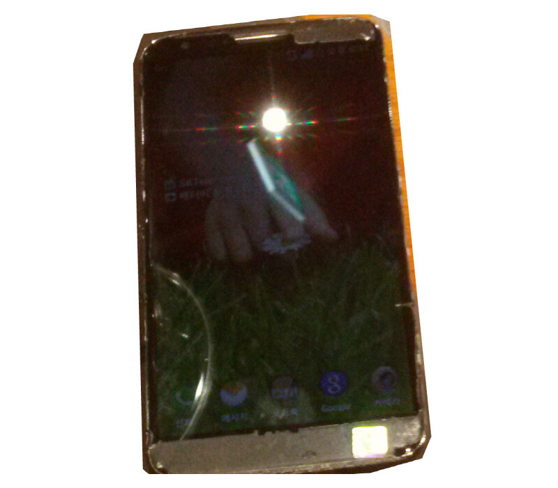 LG Optimus G2 leaked photos - LG Optimus G2 leaks again, seen running on SK Telecom
