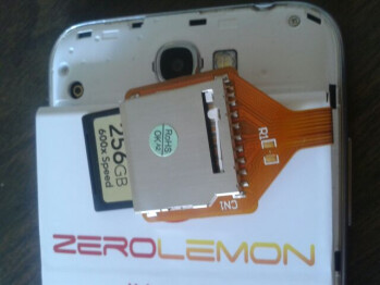 Samsung Galaxy Note II modification