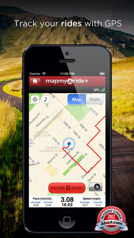 Map My Ride +/-