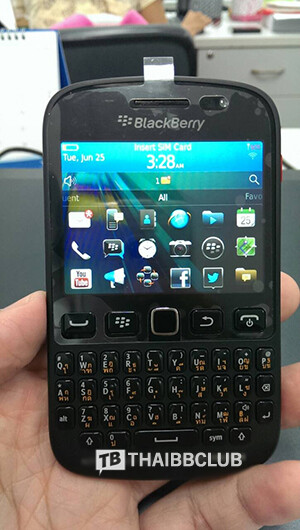 The upcoming BlackBerry 9720