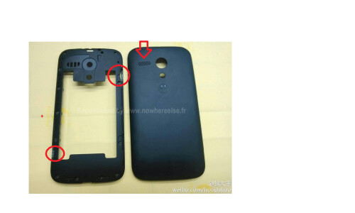 Leaked pictures of the Motorola Moto X
