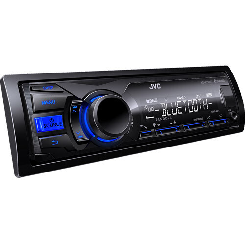JVC KDX250BT Digital Media Receiver Bluetooth Front USB-AUX ($89.91)