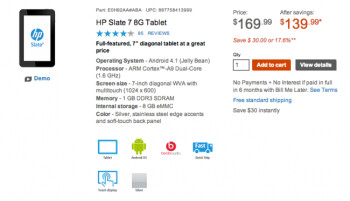 HP cuts Slate 7 tablet price, you can now get it for just $140