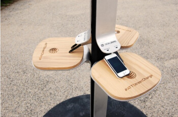 AT&T Street Charge brings free solar powered charging to NYC, allows you to juice up phones and tablets at the beach