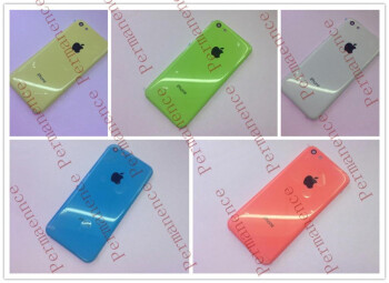 Alleged affordable iPhone shells snapped again in all colors, this time less flashy