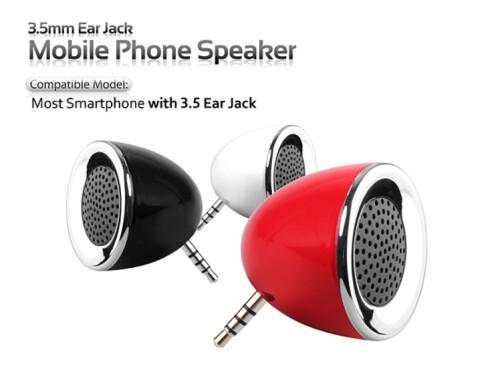 Ear Jack Mobile Phone Speaker