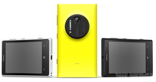 Nokia Lumia 1020 press pictures leak out, camera grip confirmed