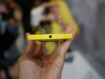 It has that classic Lumia design.