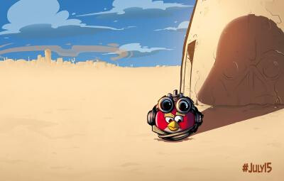 Big Angry Birds news is coming Monday - Rovio hints at Angry Birds Star Wars news for Monday
