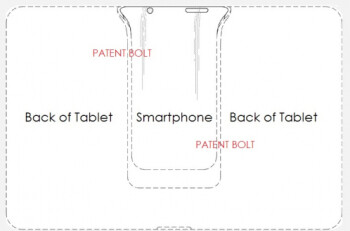 Samsung has received a patent for a dockable smartphone that will power a tablet