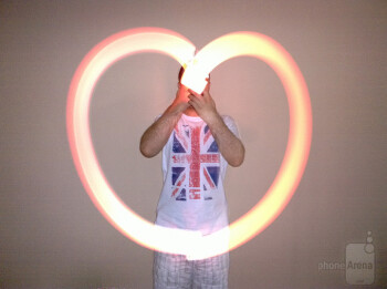 The Nokia Lumia 1020 is great for light painting