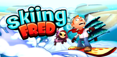Skiing Fred - Android, iOS - Free
