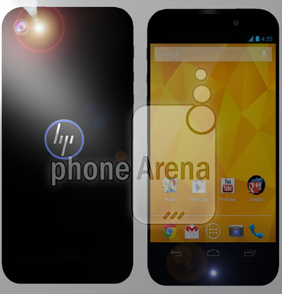 Leaked render allegedly shows off mysterious new HP smartphone