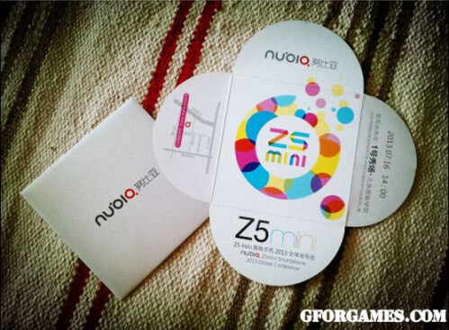 The ZTE Nubia Z5 mini will be introduced on Tuesday