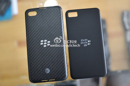 BlackBerry A10 leaks out, compared to Z10