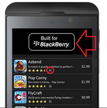 Built for BlackBerry is a brand that BlackBerry will focus on to help its developers
