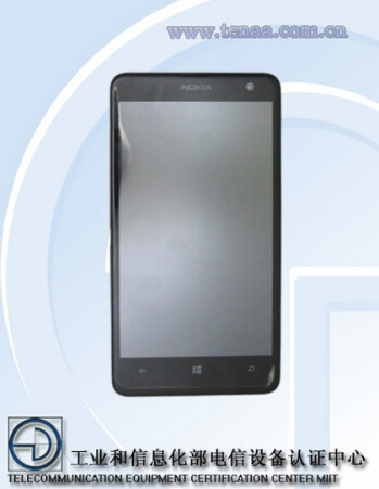 The Nokia Lumia 625 has been certified in China