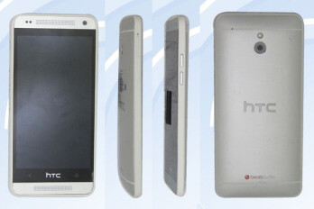 HTC One Mini passes certification in China, more images spotted